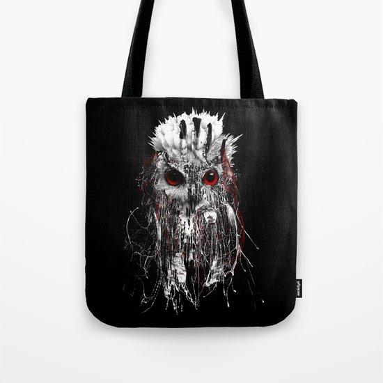 OWL - RED EYE Tote Bag
