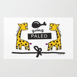 BadAss Giraffe ::: Let's Go Paleo Rug