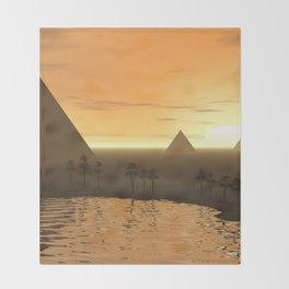 The Giza Necropolis Throw Blanket