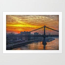 Good Morning New York Art Print