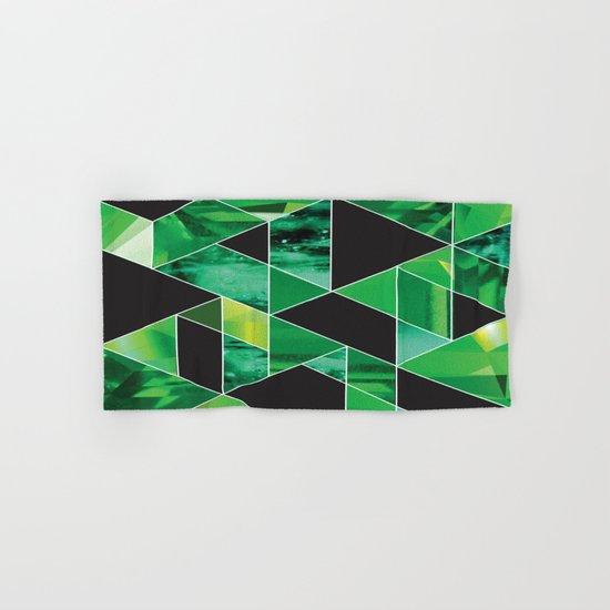 Emerald Hand & Bath Towel