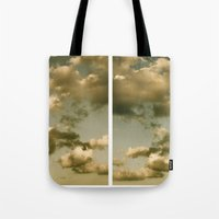 rorschach Tote Bags featuring Rorschach by GBret