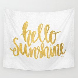Hello Sunshine by Misty Diller Wall Tapestry