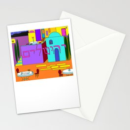 Jerusalem Time Between the Stars Stationery Cards