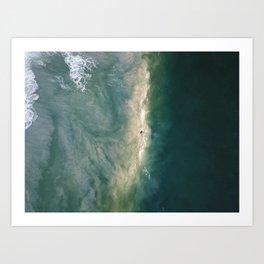 Sand Wash Art Print