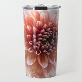 Dahlia in Soft Light Travel Mug