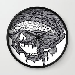 I'm going to eat your heart out (mummy) Wall Clock