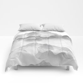 miss colored mountains Comforters