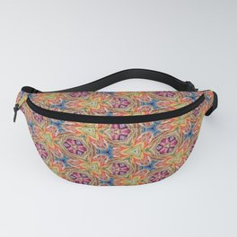 hippie - pattern colorfull Fanny Pack