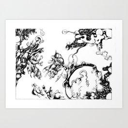 A World Apart Art Print