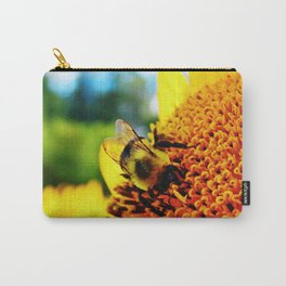 Feasting Bee Carry-All Pouch