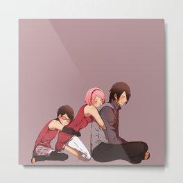 Sasuke Fam Nice 3 Metal Print
