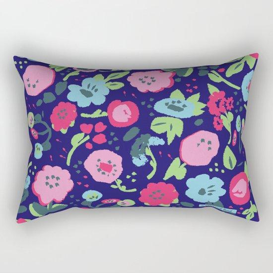Nan's Garden Rectangular Pillow