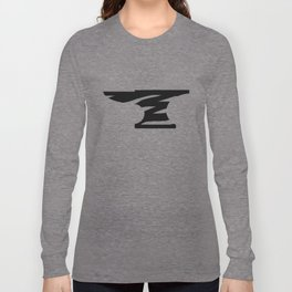 Distressed Anvil Long Sleeve T-shirt