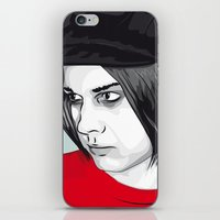 jack white iPhone & iPod Skins featuring JACK WHITE by Nuk_