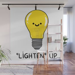 LIGHTEN up Wall Mural