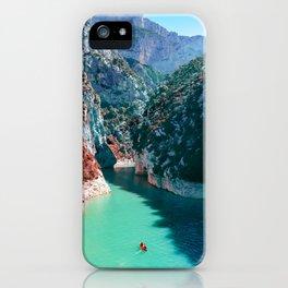 Verdon Gorge - South of France iPhone Case