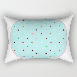 big large dot Rectangular Pillow