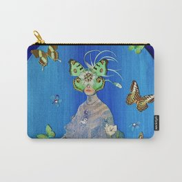 Madame Blue-Terfly  Carry-All Pouch