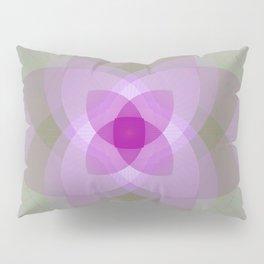 Lotus flower light Pillow Sham