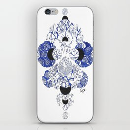 Pay Close Attention to the Present iPhone Skin