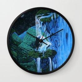 Secret midnight falls Wall Clock