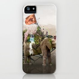 Lost Continent iPhone Case