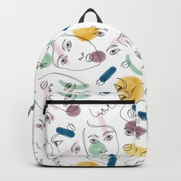 Female Portraits #society6 #figurative Backpack