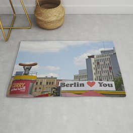 Berlin Love You Rug