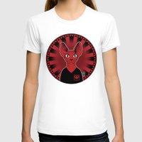 sphynx T-shirts featuring Sphynx! by Visually Odd