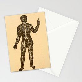 Circulatory system. Stationery Cards