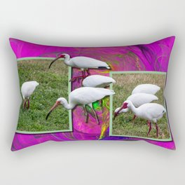 Grazing Out OF Frame Rectangular Pillow