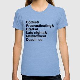 Deadlines Helvetica T-shirt