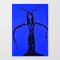 elf Canvas Prints featuring Elf by Mikhaelle A.