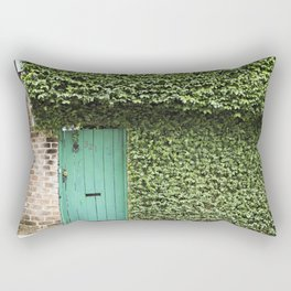 Savannah Georgia 321 Green Door Rectangular Pillow