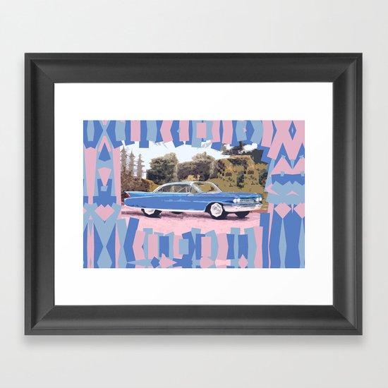 Cadillac Coupe De Ville, 1960 Framed Art Print