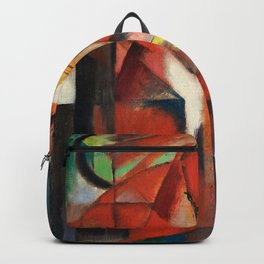 """Franz Marc """"The foxes"""" Backpack"""