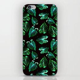 tropical leaves II pattern iPhone Skin