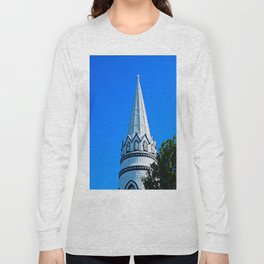 Church Steeple Statues Long Sleeve T-shirt