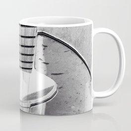 Guitar Strings - Black and White Coffee Mug