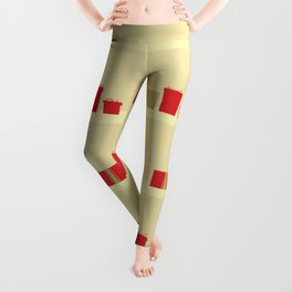 Retro Holiday Gifts Leggings