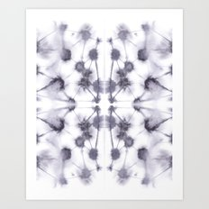 Mirror Dye Stone Art Print