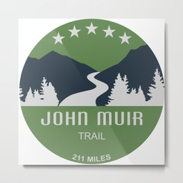 John Muir Trail Metal Print