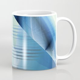 Blue abstract 2016 Coffee Mug