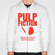 Pulp Fiction Movie Poster Hoody