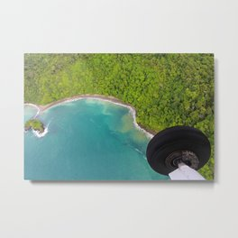 The Edge of the Jungle Metal Print