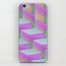 Fade Cubes II iPhone Skin