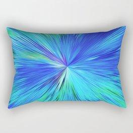 347 - Abstract colour design Rectangular Pillow