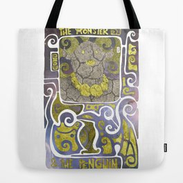 THE MONSTER & THE PENGUIN Tote Bag