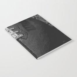 Big American Football - black &white Notebook